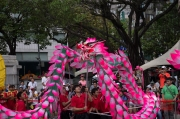 Taiwan 2012 - Taipei - Lin-Namens-Fest - Drachentanz  - Impression I
