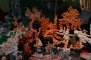 Taiwan 2012 - Taipei - Jademarkt - Korallenschnitzereien