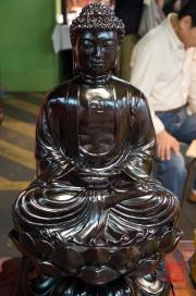 Taiwan 2012 - Taipei - Jademarkt - Budda-Figur
