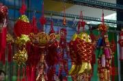 Taiwan 2012 - Taipei - Jianguo Holiday Flower Market - Chinesische Deko