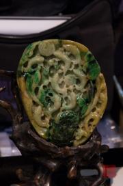 Taiwan 2012 - Taipei - Jademarkt - Schnitzerei II
