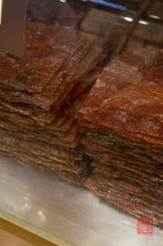 Taiwan 2012 - Taipei - Delikatesse - getrocknete Fleischscheiben