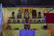 Taiwan 2012 - Taipei - Longshan Tempel - Tempelfest - Alter II