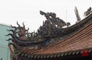 Taiwan 2012 - Taipei - Longshan Tempel - Dachrelief - Figuren