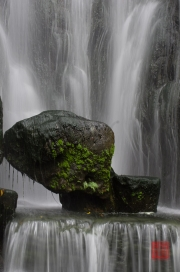 Taiwan 2012 - Taipei - Longshan Tempel - Wasserfall III