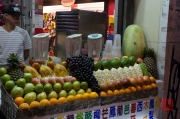 Taiwan 2012 - Taipei - Shilin Nachtmarkt - Obstsmoothiestand