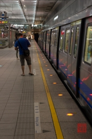 Taiwan 2012 - Taipei - Metro - Ankunft