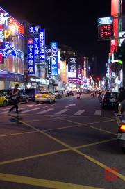 Taiwan 2012 - Taipei - Leuchtreklame