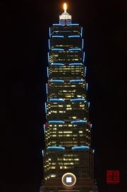 Taiwan 2012 - Taipei - Taipeh 101 Nachtbeleuchtung