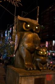 Taiwan 2012 - Taipei - Eulen