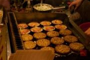 Taiwan 2012 - Taipei - St. Raohe Nachtmarkt - Omelette