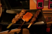 Taiwan 2012 - Taipei - St. Raohe Nachtmarkt - Japanischer Grill