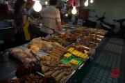 Taiwan 2012 - Taipei - Beitou - Markt - Fleischspezialitäten