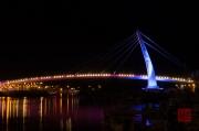 Taiwan 2012 - Taipei - Tamsui - Fishermans Wharf - Bridge Blue