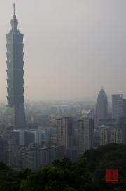 Taiwan 2012 - Taipei - Elephant Mountain - Taipeh 101 Left