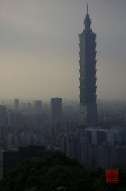 Taiwan 2012 - Taipei - Elephant Mountain - Taipeh 101 Right