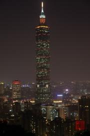Taiwan 2012 - Taipei - Elephant Mountain - Taipeh 101 Night II
