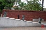 Taiwan 2012 - Taipei - Konfuziustempel - Not Seeing, Not Saying, Not Hearing