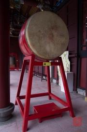 Taiwan 2012 - Taipei - Konfuziustempel - Trommel