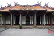 Taiwan 2012 - Taipei - Konfuziustempel - Hintergebäude