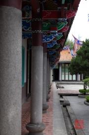 Taiwan 2012 - Taipei - Konfuziustempel - Säulen