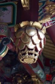 Taiwan 2012 - Taipei - Dalongdong Baoan Tempel - Ornament