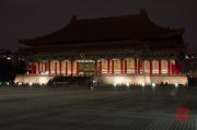 Taiwan 2012 - Taipei - CKS Memorial Hall - National Theater seitlich