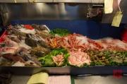 Taiwan 2012 - Taipei - Ningxia Nachtmarkt - Meeresfrüchte