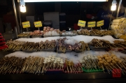 Taiwan 2012 - Taipei - Ningxia Nachtmarkt - Grill