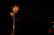 Volksfest Nuremberg 2013 - Fireworks - Gold Flowers