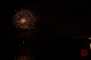 Volksfest Nuremberg 2013 - Fireworks - Blue & Gold
