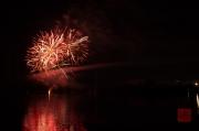 Volksfest Nuremberg 2013 - Fireworks - Red I