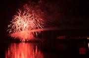Volksfest Nuremberg 2013 - Fireworks - Red II