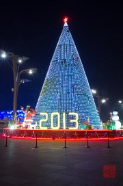 Beijing 2013 - Olympic Park - Christmas Tree LED