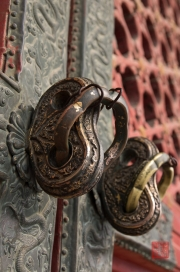 Beijing 2013 - Forbidden City - Window Catch