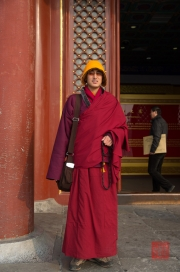 Beijing 2013 - Temple of Heaven - Monk