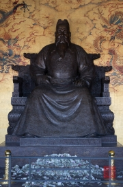 Ming tombs - Emperor sculpture