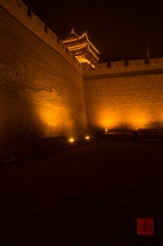 Pingyao 2013 - Wall by night