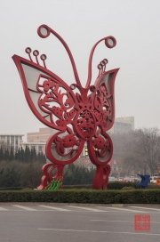 Xian 2013 - Butterfly sculpture