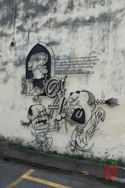 Malaysia 2013 - Georgetown - Wire-Art - Secret Society