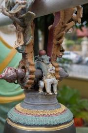 Malaysia 2013 - Georgetown - Burmese Buddhist Temple - Bell