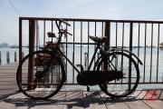 Malaysia 2013 - The Weld Quay Clan Jetties - Bike