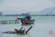 Malaysia 2013 - The Weld Quay Clan Jetties - Ship