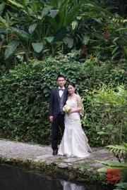 Malaysia 2013 - Penang - Spice Garden - Wedding couple
