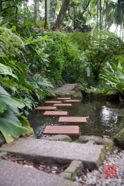 Malaysia 2013 - Penang - Spice Garden - Water-Steps