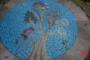 Malaysia 2013 - Penang - Spice Garden - Mosaic