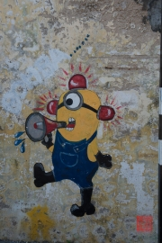 Malaysia 2013 - Georgetown - Street Art - Minion