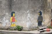 Malaysia 2013 - Georgetown - Street Art - Lego Man