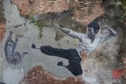 Malaysia 2013 - Georgetown - Street Art - Bruce Lee