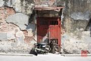 Malaysia 2013 - Georgetown - Street Art - Boy on a Bike